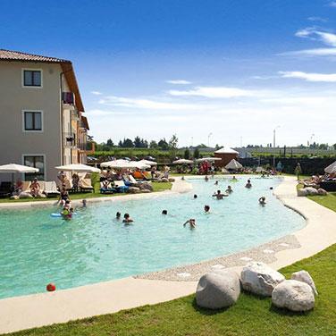 Hotel Parchi del Garda cliente HOTELCUBE