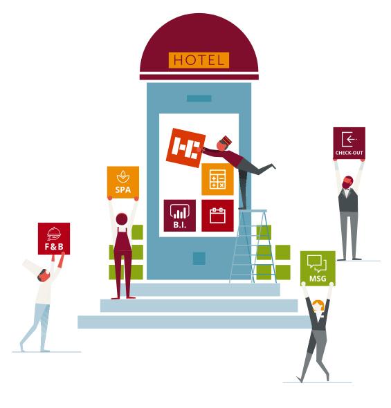HOTELCUBE Mobile Suite il gestionale per hotel a portata di smartphone